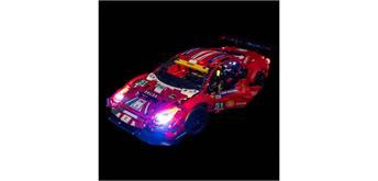 """LED Licht Set für LEGO® 42125 Ferrari 488 GTE """"AF Corse #5"""