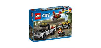 LEGO© City 60148 Quad-Rennteam