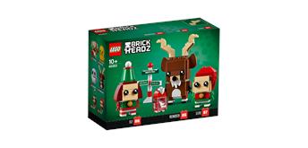 LEGO® Brick Headz 40353 - Rentier und Elfen