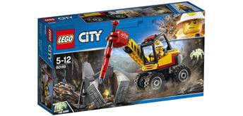 LEGO® City 60185 City Power-Spalter für den Bergbau