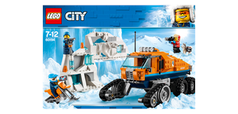 LEGO® City 60194 Arktis-Erkungdungstruck