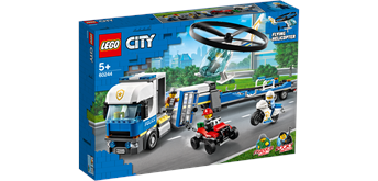 LEGO® City 60244 Polizeihubschrauber-Transport