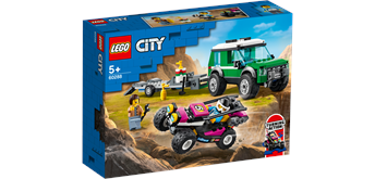 LEGO® City 60288 - Rennbuggy-Transporter