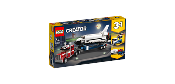 LEGO® Creator 31091 Transporter für Space Shuttle