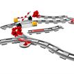 LEGO® Duplo® 10882 Eisenbahn Schienen | Bild 3