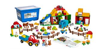 LEGO® education LEGO® DUPLO® Grosses Bauernhof Set