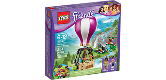 LEGO® Friends 41097 Heartlake Heissluftballon