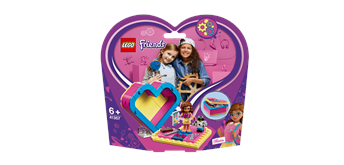 LEGO® Friends 41357 Olivias Herzbox
