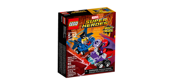 LEGO® Marvel (TM)Super Heroes 76073 Mighty Micros: Wolverine vs. Magneto