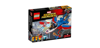 LEGO® Marvel(TM) Super Heroes 76076 Captain America: Düsenjet