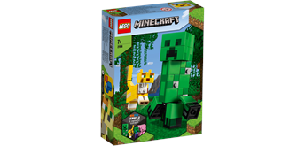 LEGO® Minecraft 21156 BigFig Creeper™ und Ozelot