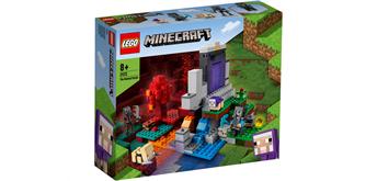 LEGO® Minecraft 21172 Das zerstörte Portal