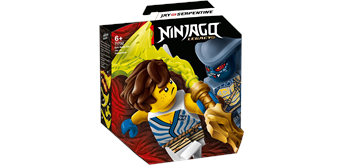 LEGO® NINJAGO® 71732 Battle Set: Jay vs. Serpentine