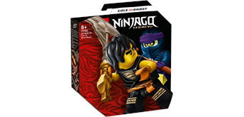 LEGO® NINJAGO® 71733 Battle Set: Cole vs. Geisterkämpfer