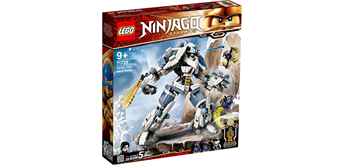 LEGO® NINJAGO® 71738 Zanes Titan-Mech
