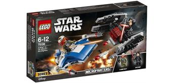 LEGO® Star Wars 75196 - A-Wing vs. TIE Silencer
