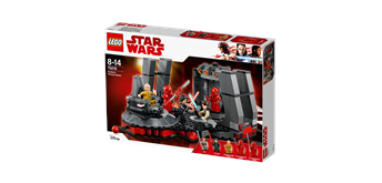 LEGO® Star Wars 75216 Snokes Thronsaal