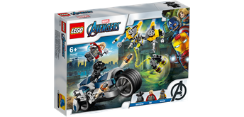 LEGO® Super Heroes 76142 Avengers Speeder-Bike Attacke