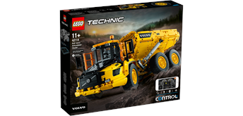 LEGO® Technic 42114 - Knickgelenkter Volvo-Dumper