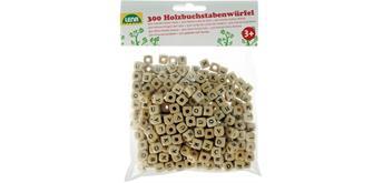 Lena Holz-Buchstabenwürfelperlen 300-teilig