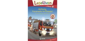 Leselöwen 1. Klasse - Achtung, Feuerwehr im Einsatz
