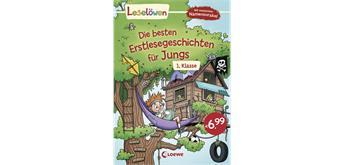 Leselöwen - Die besten Erstlesegeschichten für Jungs 1. Klasse