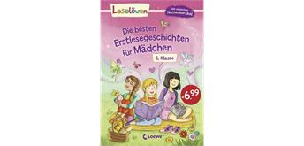 Leselöwen - Die besten Erstlesegeschichten für Mädchen 1. Klasse