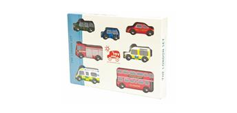 LeToyVan London Car Set