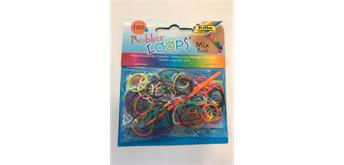 Loom Bands 100 er Beutel, Mix bunt