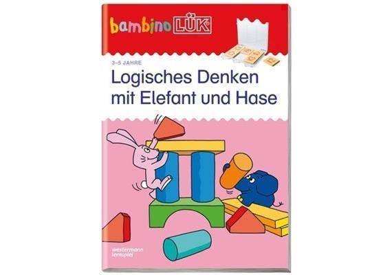 LÜK - bambino LÜK Logisches Denken mit Elefant und Hase