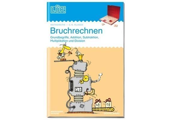 LÜK - LÜK Bruchrechnen 5./6. Kl. Doppelband