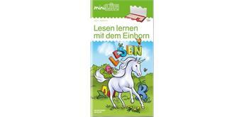 LÜK - miniLÜK Lesen lernen mit dem Einhorn