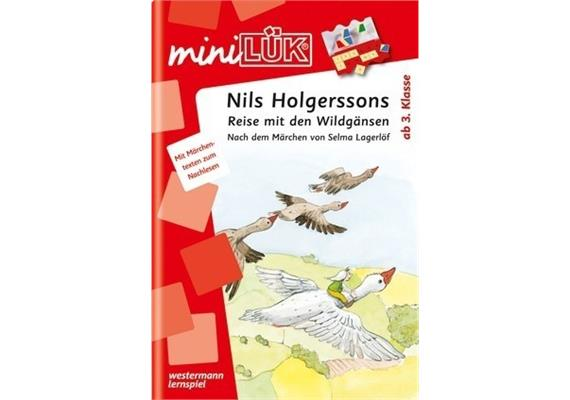 LÜK - miniLÜK - Nils Holgersons Reisen m. d. Wildgänsen Doppelband
