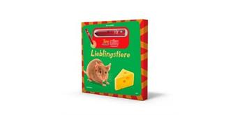 LÜK - Tipp-drauf-LÜK Bilderbuch Lieblingstiere und Stift