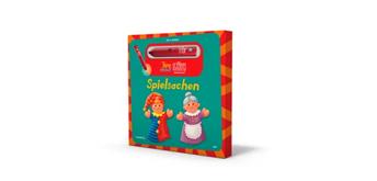 LÜK - Tipp-drauf-LÜK Bilderbuch Spielsachen und Stift