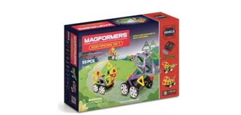 Magformers Zoo Racing Set 55 teilig -3+