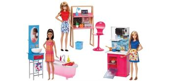 Mattel Barbie Deluxe-Set Möbel & Puppe