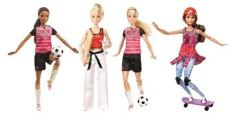 Mattel Barbie Made to Move Sportlerin