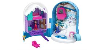 Mattel FRY37 Polly Pocket World Schneespass Schatulle