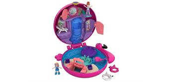 Mattel FRY38 Polly Pocket World Flamingo-Schwimmring Schatulle