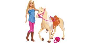 Mattel FXH13 Barbie® Pferd und Puppe