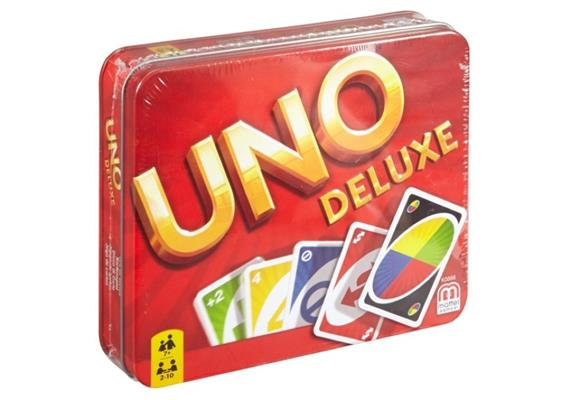 Mattel Uno Deluxe im Metallkoffer