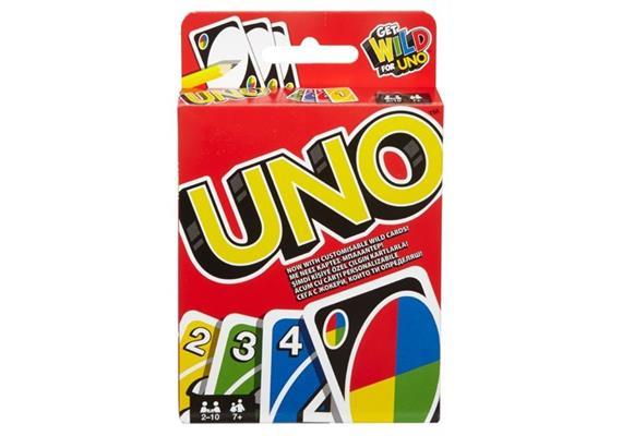 Mattel UNO Kartenspiel, d/f/