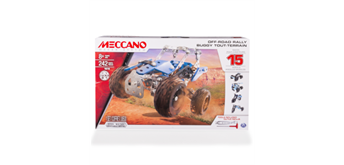 Meccano 15-Multimodell Side by Side ATV 242 Teile