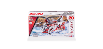Meccano 20-Multimodell Set Helikopter 406 Teile