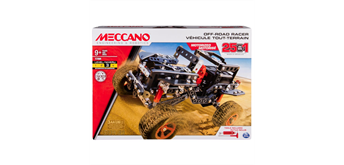 Meccano 25 Multimodell Set Offroad Racer
