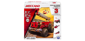 Meccano 3 Multimodell Rescue Force