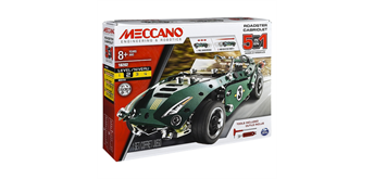 Meccano 5 Multimodell Set Pull Back Car, 174 Teile