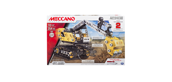Meccano Construction Digger 2 in 1 254-teilig