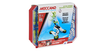 Meccano Inventor Set - Action Springs